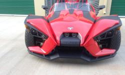 2015 Slingshot for sale. This in a SL model with approximately 4000 miles on it, has Bluetooth stereo and back up camera, $19,900 firm, (not accepting offers)