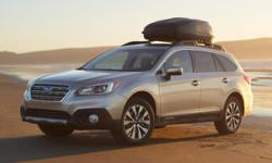 Flatirons Imports is offering this 2015 Subaru Outback 2.5i, in Silver and Slate Black Cloth, **CLEAN CARFAX ONE OWNER**, NEW LOWER PRICE, and ACCIDENT FREE. Subaru Certified.   This 2015 Outback is f