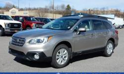 Options:  2015 Subaru Outback 2.5I Premium|Awd 2.5I Premium 4Dr Wagon|Recent Arrival! Outback 2.5I Premium|Awd|Tungsten Metallic|Auto-Dimming Rear View Compass Mirror W/Homelink|Automatic Temperature