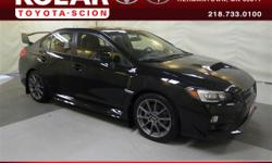 ONE Owner Per AUTO CHECK History Report, Clean Auto Check History Report, and Local Trade-in. Impreza WRX STi Limited and Close-Ratio 6-Speed Manual. How would you like riding off in this attractive 2