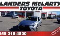PREMIUM & KEY FEATURES ON THIS 2015 Toyota Camry include, but not limited to:  Carfax One Owner - Carfax Guarantee, This 2015 Toyota Camry will sell fast Backup Camera, Save money at the pump knowing