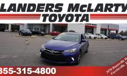 CarFax 1-Owner, LOW MILES, This 2015 Toyota Camry will sell fast -Backup Camera ABS Brakes Based on the excellent condition of this vehicle, along with the options and color, this Toyota Camry is sure