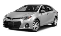Step into the 2015 Toyota Corolla! Simply a great car! This 4 door, 5 passenger sedan has not yet reached the 50,000 mile mark! Top features include power windows, a trip computer, tilt and telescoping steering wheel, and 1-touch window functionality. It