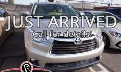 **One Owner**, -Clean Carfax-, -Leather-, -Moonroof-, -Bluetooth-, -Smart phone compatible-, -Back-up Camera-, -Navigation-, -4x4-, and -MANAGER SPECIAL-. Highlander XLE V6.   Imagine yourself behind
