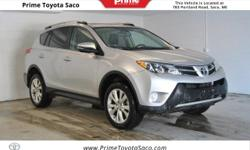 CARFAX One-Owner! Toyota Certified!, 2015 Toyota RAV4 Limited in Classic Silver Metallic! With these sought after options All Wheel Drive, Leather Heated Seats, MP3- USB / I-Pod Ready, Bluetooth, Siri