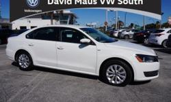 Don't let the miles fool you! Turbocharged! Family appeal with a sporty feel ! If you're looking for comfort and reliability that won't cost you tens of thousands then come check out this car today. Seldom found. David Maus VW South proudly