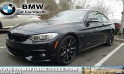 435i Coupe! M Sport, BMW Certified, Driver Assistance Pkg, Driver Assistance Plus, Lighting Package, Tech Package, Heated Seats, Harmon Kardon, Black Kidney Grilles, M Performance Side Decals, Painted