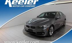 Certified. CARFAX One-Owner. 2016 BMW 5 Series **AUTOMATIC, **NAVIGATION, Keeler Rewards Program, Heated Front Seats. AWD 33/22 Highway/City MPG  Options:  Navigation System|10 Speakers|Am/Fm Radio|An