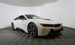 2016 BMW i8 Base - This 2016 BMW i8 2dr 16 BMW I8 2DR CPE features a 1.5L 3 CYLINDER 3cyl Gasoline engine. It is equipped with a 6 Speed Automatic transmission. The vehicle is Crystal White Pearl Meta