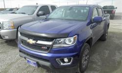 3.6L V6 DGI DOHC VVT, 6-Speed Automatic, 4WD, and Blue. Don't let the miles fool you! Long bed! Imagine yourself behind the wheel of this outstanding 2016 Chevrolet Colorado. It's at the head of its pack when it comes to cargo room. Impressive payload and
