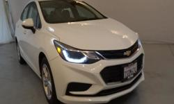 FUEL EFFICIENT 42 MPG Hwy/30 MPG City! CARFAX 1-Owner, ONLY 10,216 Miles! LT trim. Back-Up Camera, Turbo Charged Engine, iPod/MP3 Input, Satellite Radio, Aluminum Wheels, AUDIO SYSTEM, CHEVROLET MYLIN