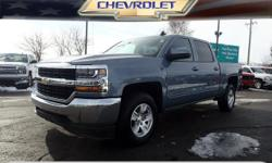 Options:  2016 Chevrolet Silverado 1500 Lt|4X4 Lt 4Dr Crew Cab 5.8 Ft. Sb|5.3L|8 Cylinder|Fuel Injected|6-Speed Automatic 4Wd|Slate Gray Metallic|Roll Stability Control|Stability Control Electronic|Dr