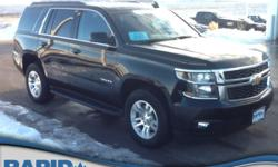 Rapid Chevrolet is honored to present a wonderful example of pure vehicle design... this 2016 Chevrolet Tahoe LT only has 12,812 miles on it and could potentially be the vehicle of your dreams!    Wan