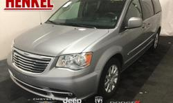 Options:  2016 Chrysler Town & Country Touring|Billet Silver Metallic Clearcoat|Black Leather|3.6L V6 Black Leather Touchscreen Navigation Backup Camera Power Sliding Doors Power Lift Gate Rear Dvd Uc