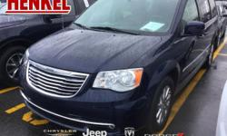 Options:  2016 Chrysler Town & Country Touring|True Blue Pearlcoat|Beige Leather|Beige Leather Rear-Dvd Touchscreen Navigation Backup Camera Power Sliding Doors Power Liftgate Full Stow N' Go Uconnect