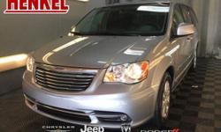 Options:  2016 Chrysler Town & Country Touring|Billet Silver Metallic Clearcoat|Black Leather|Black Leather Rear Dvd Touchscreen Navigation Backup Camera Power Sliding Doors Power Liftgate Full Stow N