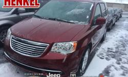 Options:  2016 Chrysler Town & Country Touring|Deep Cherry Red Crystal Pearlcoat|Beige Leather|Black Leather Rear Dvd Touchscreen Backup Camera Power Sliding Doors Power Liftgate Uconnect Bluetooth Ke