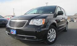 The 2016 Chrysler Town  Country is a seven-passenger minivan offered in the Touring trim package!The Town  Country comes packed with 17-inch alloy wheels, a roof rack, manual-folding heated mirrors, d