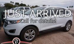 **One Owner**, -Clean Carfax-, -Bluetooth-, -Smart phone compatible-, -Back-up Camera-, and -DON'T MISS THIS OPPORTUNITY-. Edge SEL. Turbocharged!   If you've been yearning to get your hands on just the right 2016 Ford Edge, well stop your search right