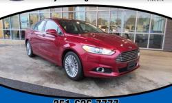 6-Speed Automatic. High-quality construction. Go down the road feeling relaxed.  Be the talk of the town when you roll down the street in this wonderful-looking 2016 Ford Fusion. This Fusion is nicely