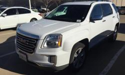 Hurry on in, a one-owner vehicle that's too good to be true. The pride of single ownership really shines on this one. Your quest for a gently used SUV is over. This handsome 2016 GMC Terrain has only