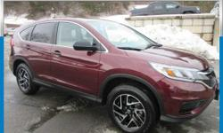 This 2016 Honda CR-V SE is offered to you for sale by Sussex Honda. How to protect your purchase? CARFAX BuyBack Guarantee got you covered.  Perfect for the on-the-go family, this Honda CR-V SE is an