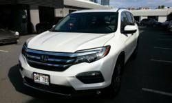 Contact Porsche Of Hawaii today for information on dozens of vehicles like this 2016 Honda Pilot Touring. Drive home in your new pre-owned vehicle with the knowledge you're fully backed by the CARFAX