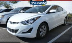 Yes! Yes! Yes! Yeah baby! Take your hand off the mouse because this 2016 Hyundai Elantra is the car you've been looking to get your hands on. Cute Vehicle need a good home. Very well mannered and rare