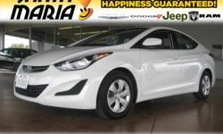 Options:  2016 Hyundai Elantra Se|Clean Carfax. Elantra Se; 1.8L 4-Cylinder Dohc 16V Dual Cvvt; 6-Speed Automatic With Shiftronic; And Quartz White Pearl. Your Lucky Day! *Prior Rental* Want To Save S