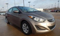 Automax Hyundai Del City is honored to offer this gorgeous 2016 Hyundai Elantra, **HYUNDAI CERTIFIED**, **ACCIDENT FREE CARFAX**, and **CARFAX ONE OWNER**. Creampuff! This charming 2016 Hyundai Elantr