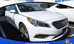 Recent Arrival! Cloth. Odometer is 8033 miles below market average! 36/25 Highway/City MPG  2016 Hyundai Sonata SE FWD 25/36mpg 6-Speed Automatic with Shiftronic  Mark McLarty Ford Lincoln, in North L