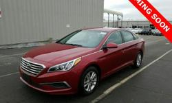 This vehicle qualifies for Warranty For Life at no extra charge!! A powertrain warranty good for as long as you own it! This charming 2016 Hyundai Sonata is a great little car! It gives you plenty of