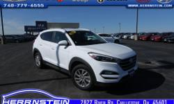 2016 Hyundai Tucson SE This Hyundai Tucson is Herrnstein Hyundai Certified unit, meaning it has received a meticulous 124 point inspection and receives a 3 month 3,000 mile powertrain warranty. Accident Free AutoCheck History Report*, 1 Owner*, Tucson SE,