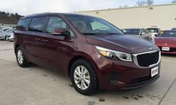 ** ACCIDENT FREE AUTOCHECK**, **BLUETOOTH**, **CRUISE CONTROL**, **GREAT FUEL ECONOMY**, **iPod/Aux CONNECT**, **KEYLESS ENTRY**, **LOTS OF SPACE**, *3RD ROW SEATING*, and *FAMILY FRIENDLY*. **Tim Sho