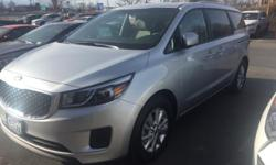 CARFAX 1-Owner, Rear Backup Camera, 60,000 mile warranty. Alloy wheels, Dual Power Sliding Doors, and Heated Front Seats. Power To Surprise! Imagine yourself behind the wheel of this handsome 2016 Kia