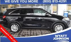 Be the talk of the town when you roll down the street in this outstanding 2016 Kia Sorento. This SUV is nicely equipped with features such as * CLEAN VEHICLE HISTORYNO ACCIDENTS *, AWD, and Wheels: 17