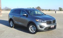 New Price! Recent Arrival! Odometer is 17481 miles below market average! Certified. CARFAX One-Owner. Clean CARFAX.  *AWD *V6 *100,000 MILE WARRANTY  2016 Kia Sorento LX 3.3L DOHC Platinum Graphite AW