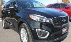 Dolan Mazda Kia is excited to share this vehicle with you. Reno Mazda Kia is pleased to offer this outstanding 2016 Kia Sorento. This SUV is nicely equipped with features such as 3.3L DOHC, 3rd row se