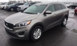 V6 All Wheel Drive Sorento LX with 3rd Row Seat.  Kelly Blue Book says If you're looking for a 3-row crossover SUV, but don't want extra bulk, the new Sorento may be just the ticket. With three engine