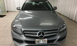 Mercedes-Benz Of Honolulu is excited to offer this 2016 Mercedes-Benz C-Class. Outstanding fuel economy and sleek styling are two great reasons to consider this Mercedes-Benz C-Class. This is the one.