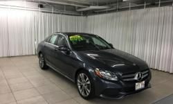 Mercedes-Benz Of Honolulu is pleased to be currently offering this 2016 Mercedes-Benz C-Class C300 with 25 miles. If you are looking for a vehicle with great styling, options and incredible fuel econo