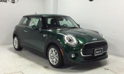 Moonroof, Heated Seats, WHITE TURN-SIGNAL LIGHTS, Dual Zone A/C, Turbo Charged Engine, RUN-FLAT TIRES. British Racing Green metallic exterior and Carbon Black Leatherette interior, Hardtop 2 Door trim