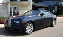 All New Rolls-Royce Dawn! Dawns alluring presence is unmistakable, right from the very first encounter. Striking and assertive, its charm and charisma draw you in. Whether the roof is up, down, or in