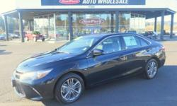 Sturdy and dependable, this Used 2016 Toyota Camry SE lets you cart everyone and everything you need in one vehicle. This Toyota Camry features the following options: Window Grid Antenna, Wheels:17&qu