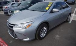 Recent Arrival! 2016 Toyota Camry LECARFAX One-Owner. Ash w/Fabric Seat Trim, ABS brakes, Electronic Stability Control, Heated door mirrors, Illuminated entry, Low tire pressure warning, Remote keyles