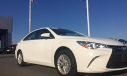 Toyota Certified, ABS brakes, Electronic Stability Control, Heated door mirrors, Illuminated entry, Low tire pressure warning, Remote keyless entry, and Traction control. Thank you for taking the time to look at this stunning-looking 2016 Toyota Camry. If
