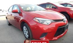 **ACCIDENT FREE CARFAX**, **NON-SMOKER**, **CARFAX ONE OWNER**, **KEYLESS ENTRY**, **REAR BACKUP CAMERA**, **USB**, and **BLUETOOTH, HANDS-FREE**. 4D Sedan, 1.8L I4 DOHC Dual VVT-i, CVT, FWD, Red, ABS