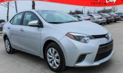 New Price! Clean Vehicle History Report, Corolla LE, CVT, Automatic temperature control, Power windows, Remote keyless entry, Speed control. 38/29 Highway/City MPG TOYOTA CERTIFIED!! 7 YR/100K WARRANTY!! BUY WITH PEACE OF MIND!! Awards: * 2016 KBB.com