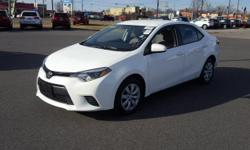 **CarFax One Owner**, Non Smoker, and **Still under Honda Factory Warranty**. Corolla LE. In fine form. Must see!   Price Dover, home of the Used Car Super Stars at the World Famous Used Car Super Sto