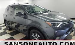 *TOYOTA CERTIFIED*, *ONE OWNER*, *CLEAN CAR FAX*, *FRESH DETAIL*, *NON SMOKER*, *CELEBRATING OVER 50 YEARS IN BUSINESS*, and *BACKUP CAMERA*.  This charming 2016 Toyota RAV4 is the SUV that you have been looking to get your hands on. Toyota Certified